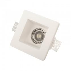 InLight Χωνευτό σποτ λευκό από γύψο (Χ0001)