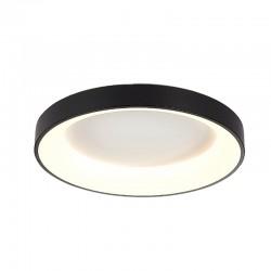 InLight Πλαφονιέρα οροφής από μαύρο μέταλλο και ακρυλικό (42177-Α)