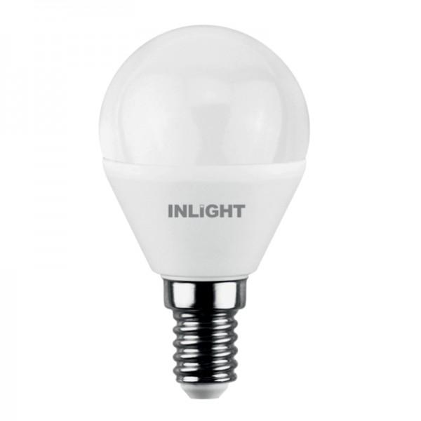 InLight E14 LED G45 5,5watt 3000K  Θερμό Λευκό (7.14.05.14.1)