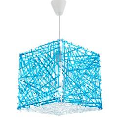 InLight Κρεμαστό φωτιστικό από μπλε plexiglass (4339-Μπλε)